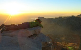 Sunrise on Mt Whitney