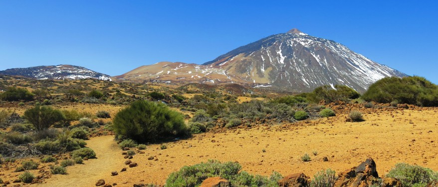 The Teide - Tenerife's highest mountain/volcano