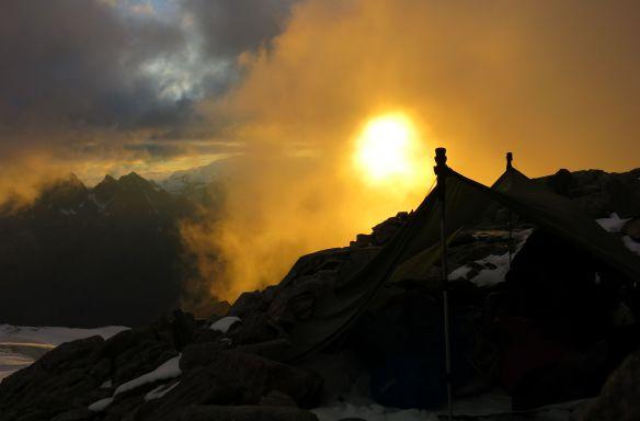 Mont Blanc Sunset