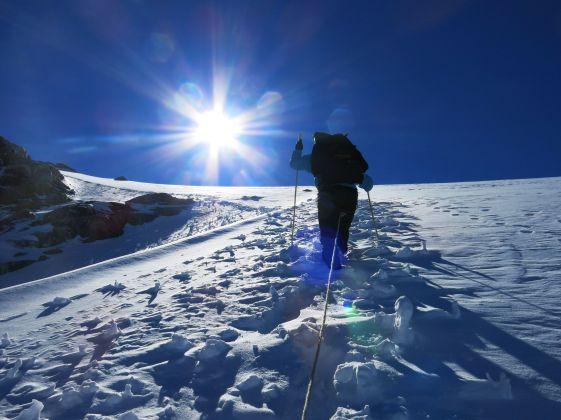 Climbing towards Col du Tour