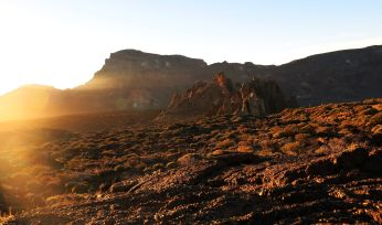 Sunrise at Roques de Garcia