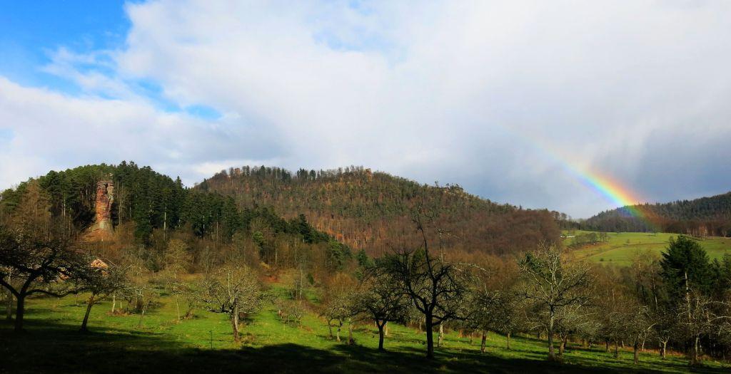 felsenland regenbogen