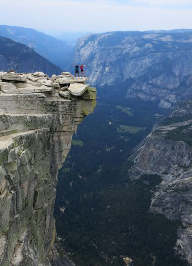 diving board half dome