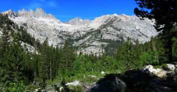 550 Le Conte Canyon to Upper Palisade Lake