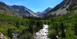 552 Le Conte Canyon to Upper Palisade Lake