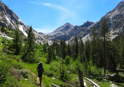 555 Le Conte Canyon to Upper Palisade Lake