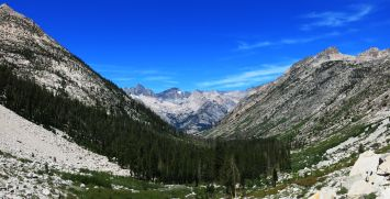 556 Le Conte Canyon to Upper Palisade Lake