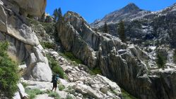 560 Le Conte Canyon to Upper Palisade Lake