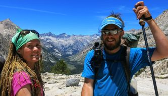 563 Le Conte Canyon to Upper Palisade Lake