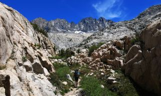564 Le Conte Canyon to Upper Palisade Lake