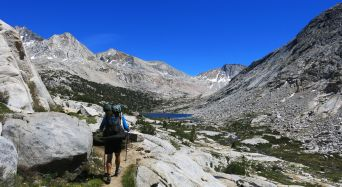 569 Le Conte Canyon to Upper Palisade Lake