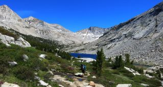 571 Le Conte Canyon to Upper Palisade Lake