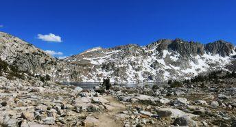 climbing Silver Pass