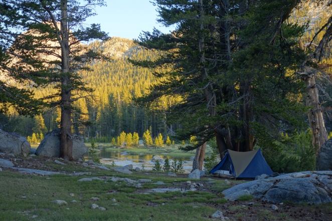 Yama Swiftline tent
