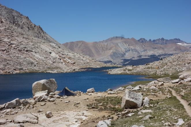 Yama Mountain Gear Swiftline at Guitar Lake